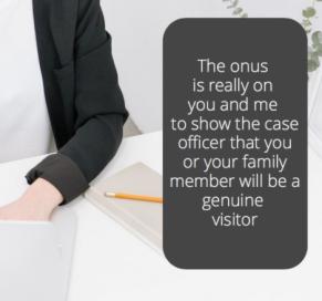 The onus is really